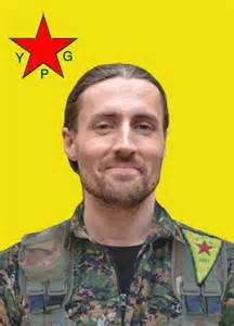 An image of Keith Broomfield distributed by the YPG.