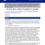 NCCIC-UkrainianPowerAttack